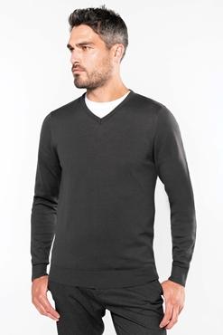 Picture of Man V neck  cotton jumper