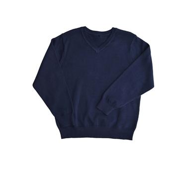 Immagine di Maglione scollo a V misto lana